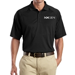 Cornerstone Men's Golf Shirt Black